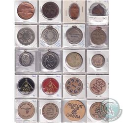 Estate Lot 1967 Canada Token/Medallion Collection. You will receive 20 Items in this collection, all