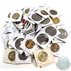 *Estate Lot 1970's-Date United States Dollar Collection in Cardboard Holders. You will receive 75 co