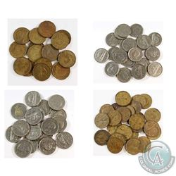 Estate Lot 1937-1950 Canada 5-cent Collection. You will receive 79 Coins Dated between 1937 and 1950