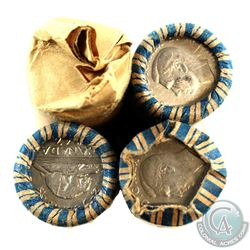 Estate Lot 1943-1947 Canada 5-cent collection. You will receive a 43x 1943 Tombac, 39x 1946, 41x 194