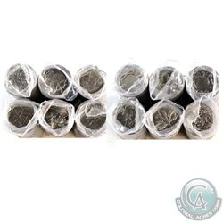 *2000 Canada Commemorative 25-cent Roll Collection. You will receive all 12 designs released in 2000