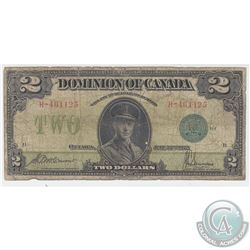 1923 $2 DC-26d Dominion of Canada Note with Green Seal 1