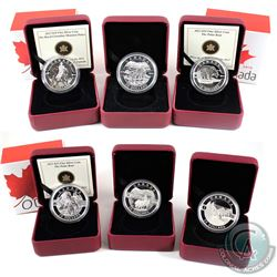 Lot of 2013 $10/$25 & 2014 $25 O Canada Series Fine Silver Coins. You will receive 2013 $10 Polar Be