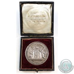 British Medal from 1880's - Honour to Every Man That Worketh Good; The Sunday Companion Roll of Hono
