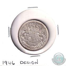 1946 Canada 50-cent Design Very Fine