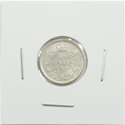 1871H Canada 10-cent EF-AU
