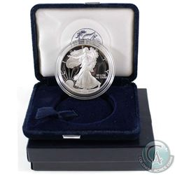 1995 United States Proof 1oz Fine Silver Eagle in all original mint packaging with COA (Tax Exempt).
