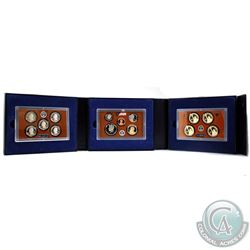 2014 'S' United States Mint Proof Set. Set includes 14-coin housed in the mint released presentation