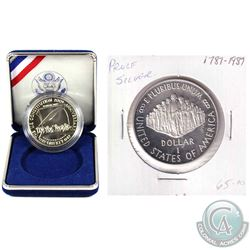 2x United States $1 200th Anniversary of the U.S Constitution. One Comes in the original mint clamsh