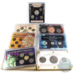 Estate Lot United States Coin Collection in Presentation Cases. You will receive Bicentennial 3-coin