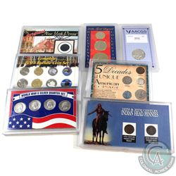 Estate Lot United States Coin Collection in Presentation Cases. You will receive 1789 New York Penny