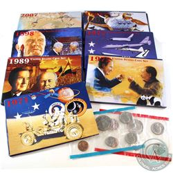 1971-2007 United States Mint-Set Collection. You will receive 1971, 1972, 1977, 1984, 1989, 1998, an