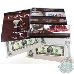 2009 & 2016 United States Currency Collection. You will receive 2009 150th Anniv. $2 & $5 Commemorat