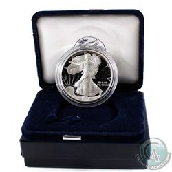 1994 United States Proof 1oz Fine Silver Eagle in all original mint packaging with COA *Low Mintage*