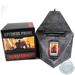 2014 Australia $1 Transformers - Optimus Prime 1oz Lenticular Coin (Tax Exempt). Coin comes housed i