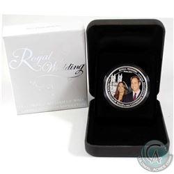 2011 Australia $1 Royal Wedding - William & Catherine 1oz Fine Silver Coin (Tax Exempt).