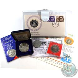 1972-1989 United Kingdom Royal Coin/Medallion Collection. You will receive 1972 Queen Elizabeth & Pr