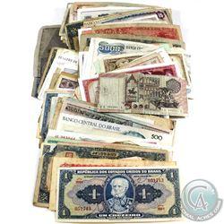 Large Estate Lot Mixed World Banknotes. 253pcs.