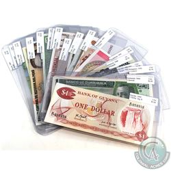Estate Lot 1942-2006 World Banknote Collection from 20 Different Countries. Most in UNC Condition. 2