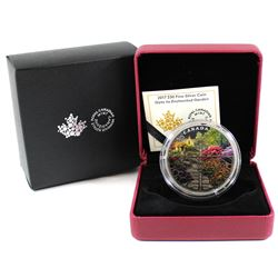 2017 Canada $30 Gate to Enchanted Garden Fine Silver (Tax Exempt)