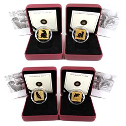 2010-2011 Canada $3 Wildlife Conservation 4-coin Sterling Silver Set. You will receive the Barn Owl,