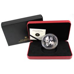 2007 Canada $50 Queen's 60th Wedding Anniversary 5oz. Fine Silver Coin (Tax Exempt). Coin contains a