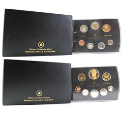 2007 Canada Specimen Set & Double Dollar Proof Set (the Proof set cardboard sleeve is unglued on one