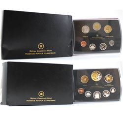 2008 Canada Specimen Set & Double Dollar Proof Set (sleeves are lightly bent, Proof set hard plastic