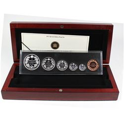 2011 Canada 1911 Silver Dollar Centennial Special Edition Proof Set (sleeve lightly worn)