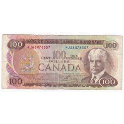 1975 Replacement $100 BC-52aA, Lawson-Bouey, *JA Prefix, CIRC.