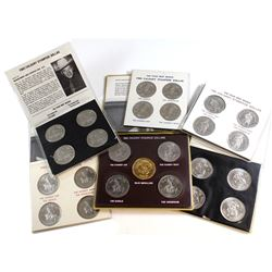 1980-1984 Calgary Stampede Dollar Collection. You will receive the 1980 4-Mint Mark Souvenir Set, 19