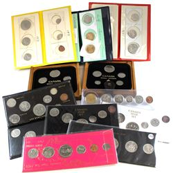 1968-2006 Canada Year Set Collection. You will receive a 1968 8-coin set, 1969 6-coin set, 1971 6-co