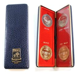 4x 1873-1973 Prince Edward Island Centennial of Confederation Medallions. You will receive one of ea