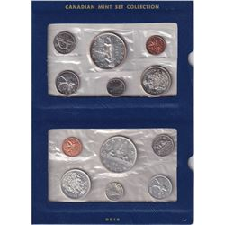 Collection of 1960-1967 Canada Mint set Collection. Dates Include 1960 (not original packaging), 196