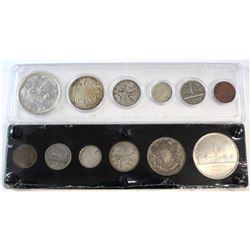 1939 & 1951 Canada 6-coin Year Set.