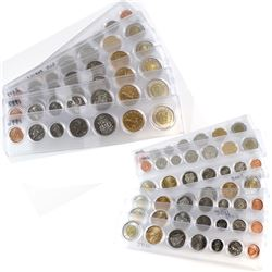 1996-2011 Canada 7-coin Year Sets in Acrylic Holders. You will receive each date from 1996 to 2011 w