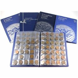 Estate Lot of Canada Small Cent Collection dated between 1920-2012. You will receive 376 Canada 1-ce
