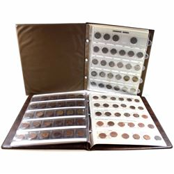 Estate lot of Canada 1-cent & 5-cent Collection in Brown Uni-safe folder. You will receive 100x Cana