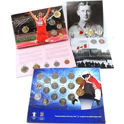 2004-2010 Canada Collector Card Sets. You will receive a 2004 6-coin set with Lucky Loon, 2006 6-coi