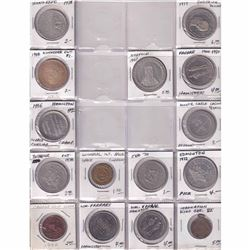 54x Miscellaneous Commemorative tokens and Medallions. 54pcs