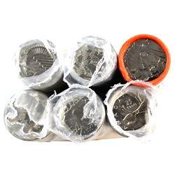 *1992-2005 Canada 25-cent Original Roll of 40pcs: 1992 British Columbia, 1999 December, 1992 Septemb