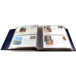 * 1983/1984 United States First Day Cover Collection in Collector Album. You will receive 77 First d