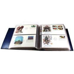* 1981-1983 United States First Day Cover Collection in Collector Album. You will receive 136 First
