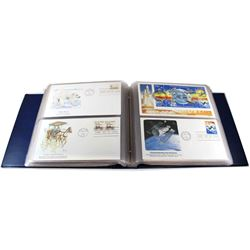 * 1980-1981 United States First Day Cover Collection in Collector Album. You will receive 112 First