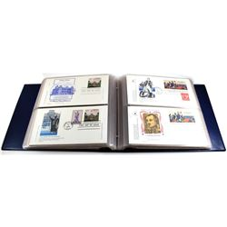 * 1978-1980 United States First Day Cover Collection in Collector Album. You will receive 100 First