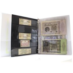 1920-1923 German 'Hyperinflationary Period' Bank Note & Bond Collection. You will receive 25 Pieces