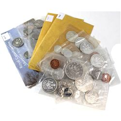 Estate Lot of 1961-1977 Canada Proof Like Sets. You will receive 1961-1969, 1972 & 1977 (some coins