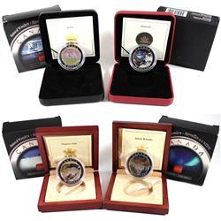 2003-2005 Canada $20 Natural Wonders Series Fine Silver Coins - 2003 Niagara Falls (light toning spo