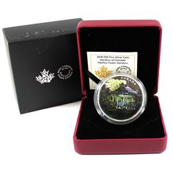 2018 Canada $30 Halifax Public Gardens 2oz Fine Silver Coin (outer sleeve is torn) Tax Exempt