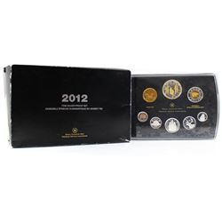 2012 Canada War of 1812 Fine Silver Deluxe Proof Set (outer sleeve is slightly worn) Tax Exempt